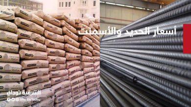 صورة تراجع أسعار الحديد والأسمنت في مصر اليوم الثلاثاء