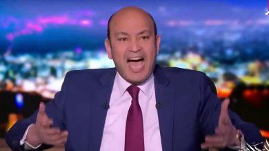 صورة تعليق صادم من عمرو أديب على إيقاف رئيس الزمالك 4 سنوات