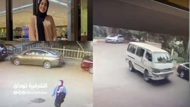 صورة أول فيديو يرصد تفاصيل جريمة سرقة وسحل فتاة المعادي