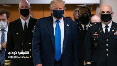 صورة فيديو.. نقل ترامب لمستشفى عسكري لعلاجه من كورونا