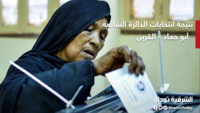 نتائج انتخابات الدائرة السابعة أبو حماد والقرين