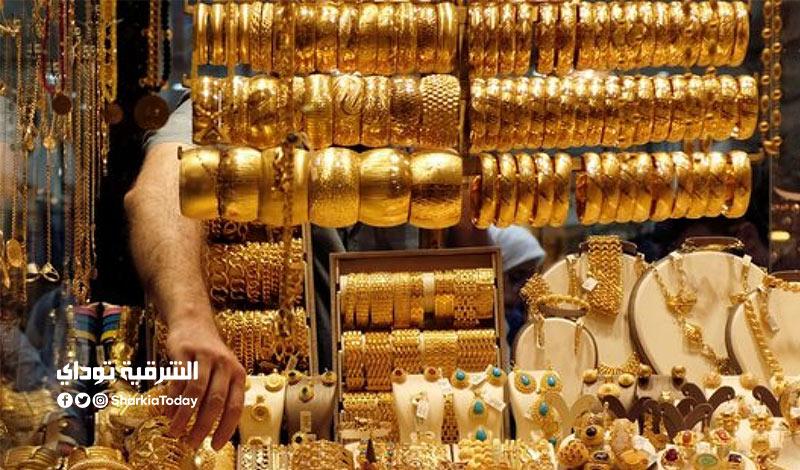 الذهب الان في مصر.. هبوط كبير والجرام يخسر 35 جنيهًا