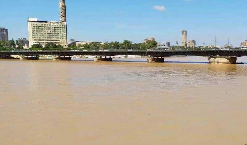 سبب تعكر مياه نهر النيل