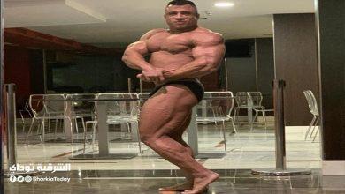 """البطل """" مصطفى الكاشف """" يحصد المركز السادس في بطولة العالم لكمال الأجسام"""