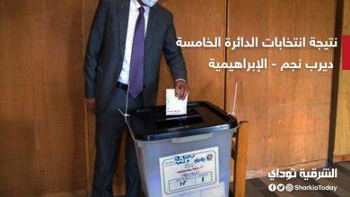 نتيجة انتخابات الدائرة الخامسة ديرب نجم والإبراهيمية