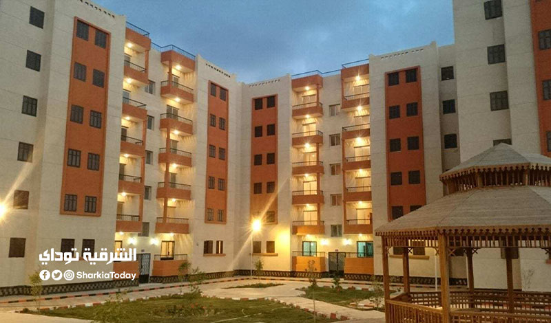 طرح 820 وحدات سكنية جديدة
