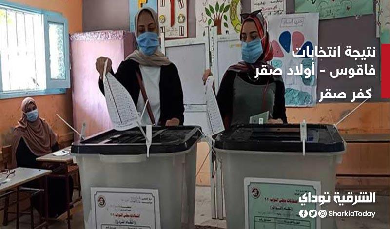 نتيجة انتخابات الدائرة السادسة فاقوس وأولاد صقر وكفر صقر