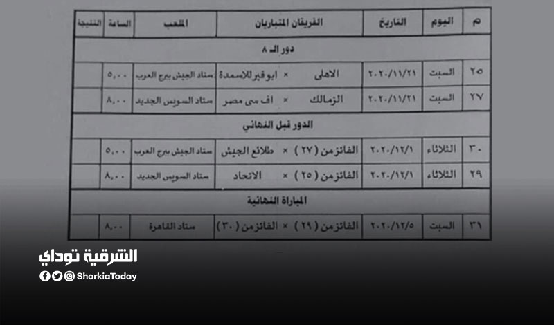 كاس مصر.