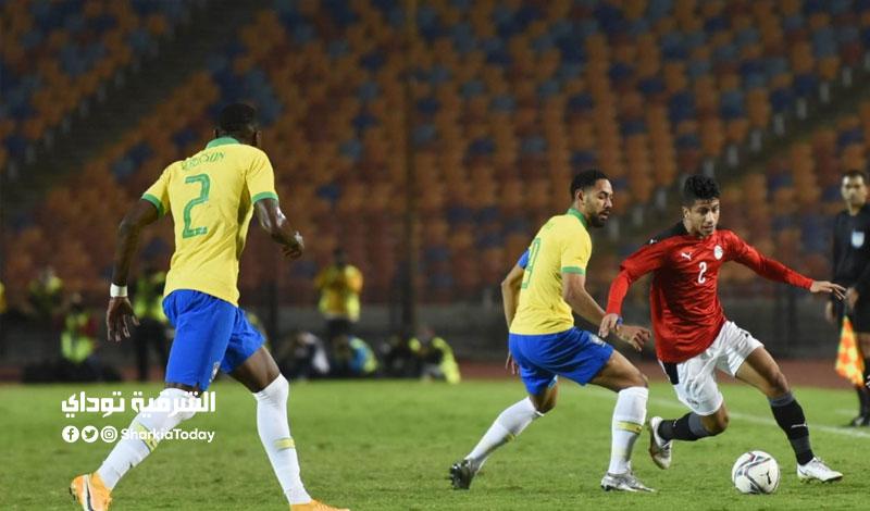 ملخص مباراة مصر والبرازيل الاولمبي