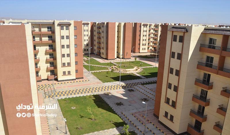 وحدات سكنية في العاصمة الجديدة