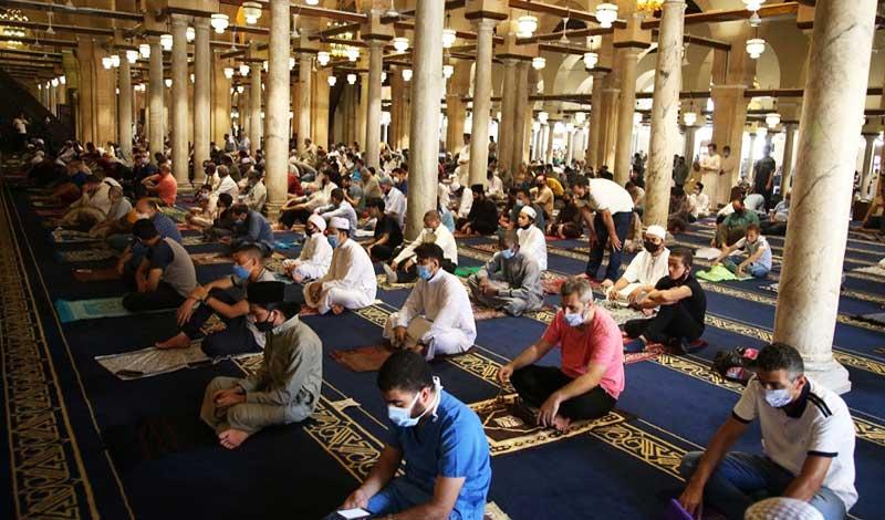 غلق المساجد