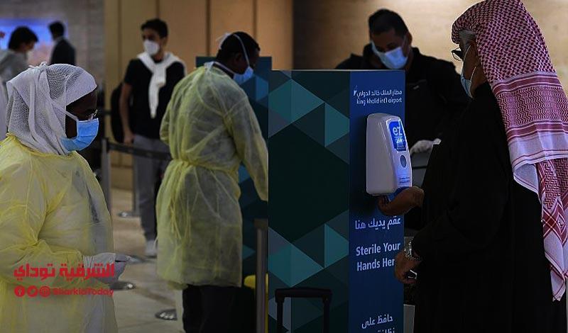 وقف الرحلات الجوية في السعودية