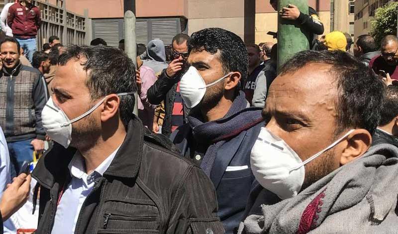 أعداد مصابي كورونا في مصر