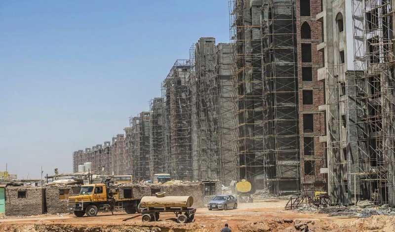 أعمال البناء المرخصة