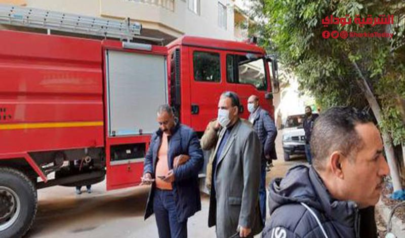 7 أشخاص وإصابة 5 آخرين في حريق بمستشفى مخصص لمرضى كورونا بالعبور2
