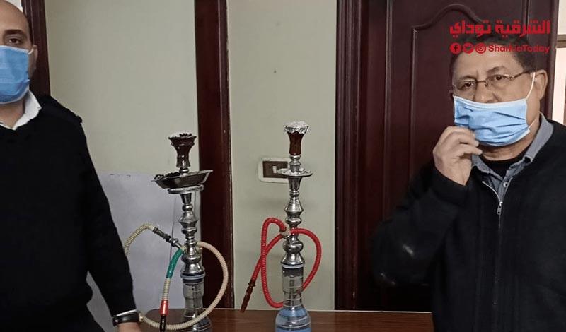 .. غلق سنتر دروس يقدم شيشة ومشروبات للطلبة7