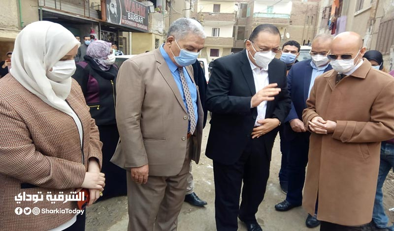 الشرقية ووكيل وزارة الصحة يتابعان أول حالات العزل المنزلي بالشرقية