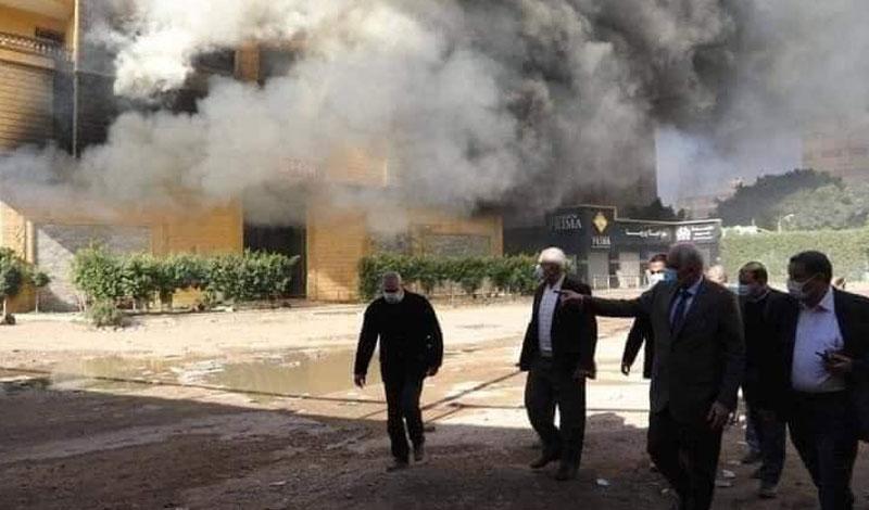 """""""لو البرج موقعش هيتهد"""" تفاصيل ومفاجآت في حريق هائل ببرج سكني بجوار الطريق الدائري"""