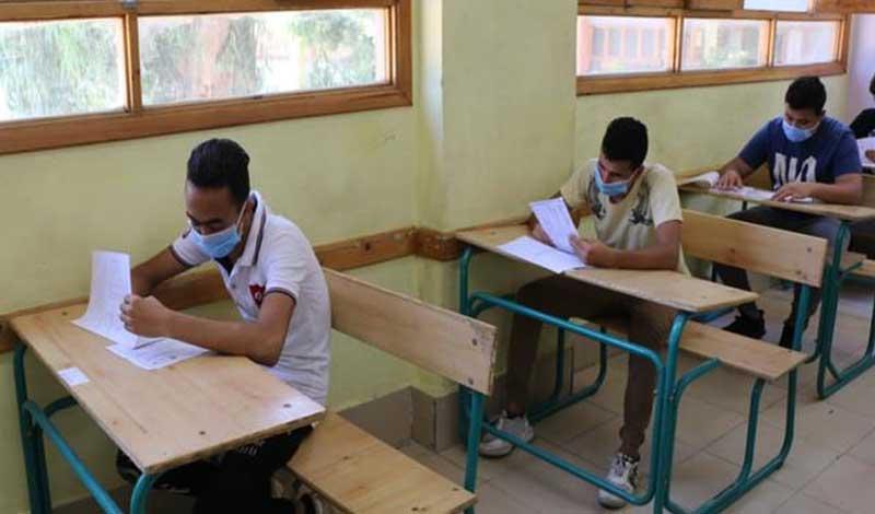 مصير الطالب المصاب في لجان الامتحانات