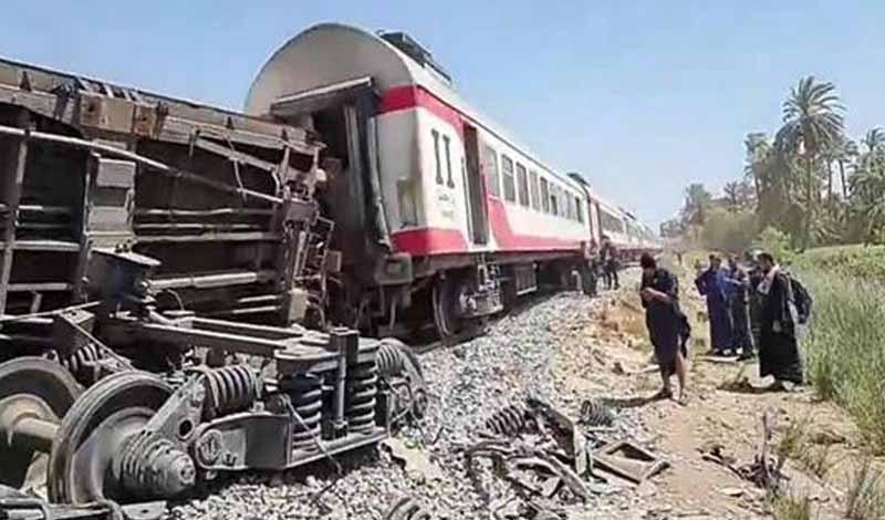 المتسبب في حادث قطاري سوهاج