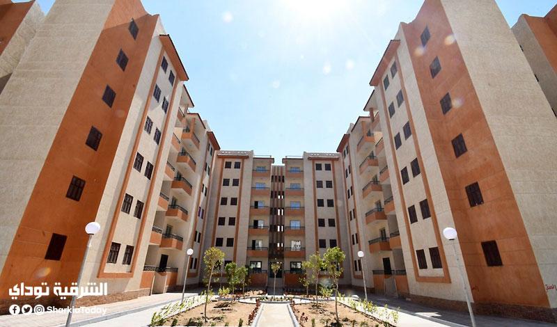 تفاصيل بناء وحدات سكنية جديدة تشبه مساكن الأسمرات في بلبيس
