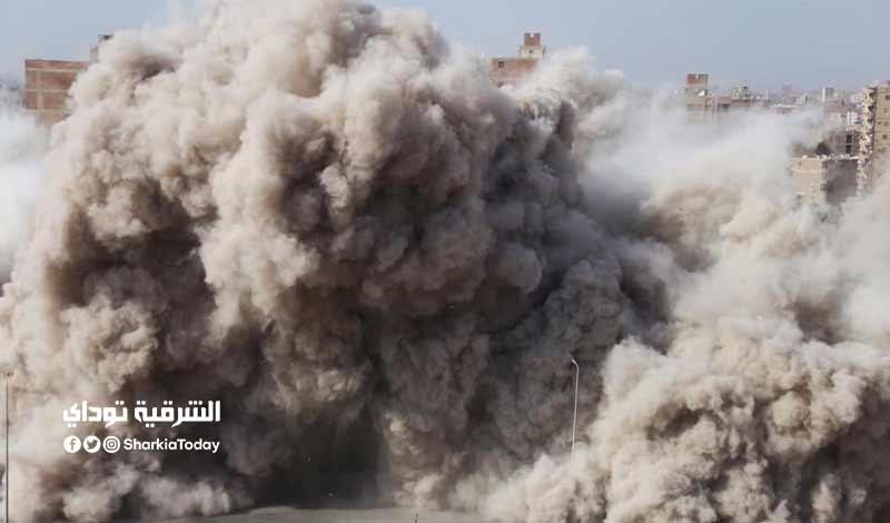 تفجير برج الدائري