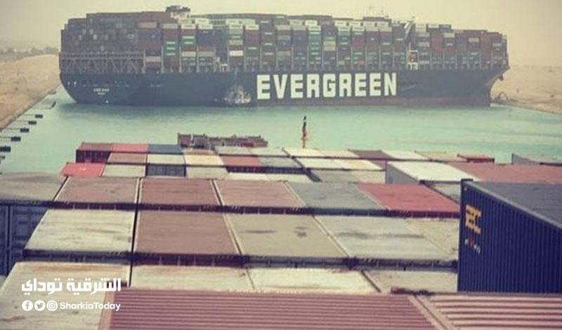 جنوح سفينة في قناة السويس يتسبب في ارتفاع أسعار النفط
