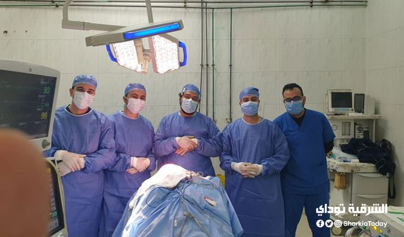 طبي بمستشفيات جامعة الزقازيق ينجح في استخراج سيخ حديد من جمجمة طفل 4
