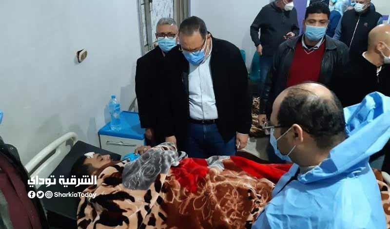 وبيانات مصابي حادث قطار منيا القمح 3