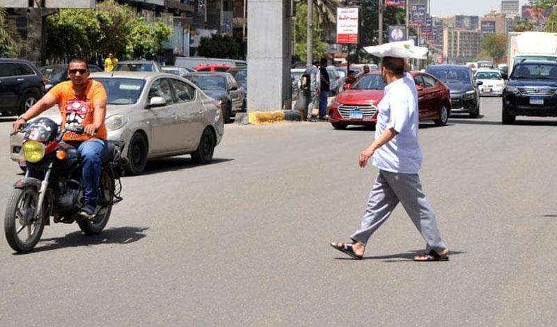 الأرصاد تنصح المواطنين بارتداء أغطية رأس