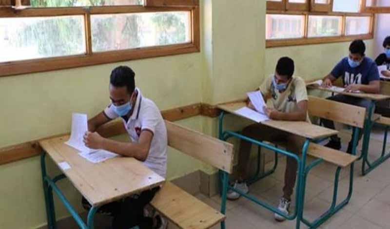الامتحانات التجريبية للثانوية العامة