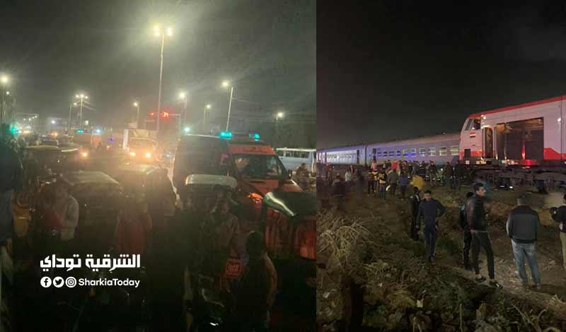 قطار منيا القمح 3