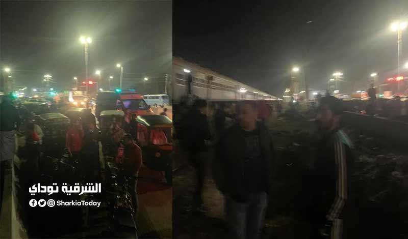 قطار منيا المح