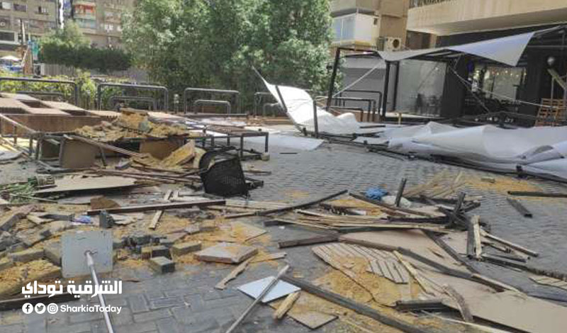 حسن شاكوش بعد إغلاق مطعمه في مدينة نصر 1