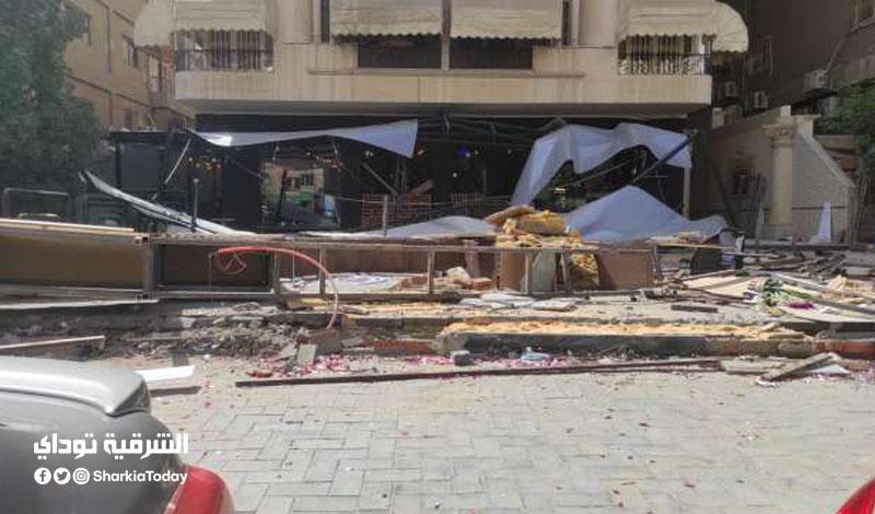 حسن شاكوش بعد إغلاق مطعمه في مدينة نصر