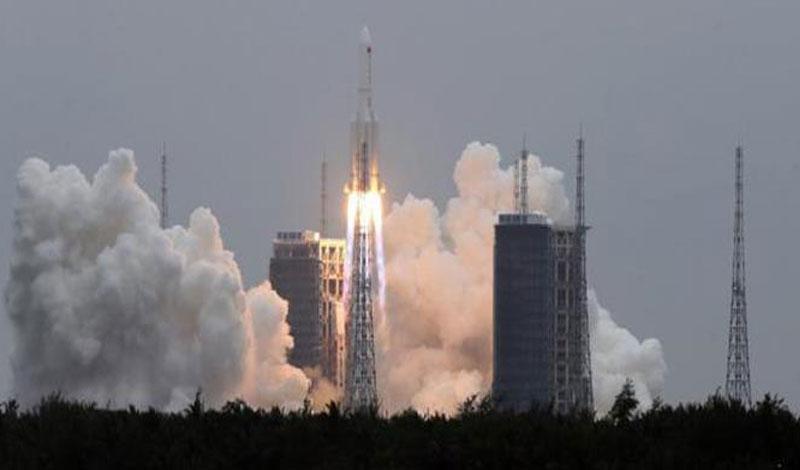 الأماكن المحتملة سقوط للصاروخ الصيني