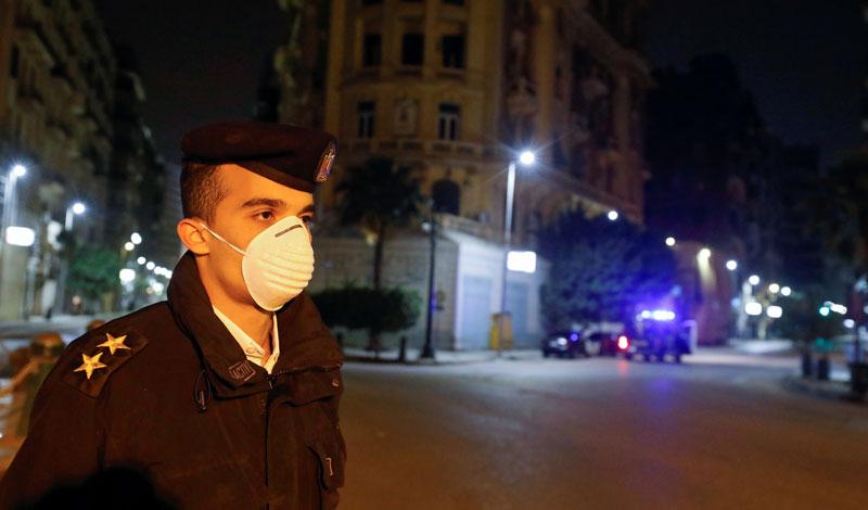 فرض حظر تجوال في مصر