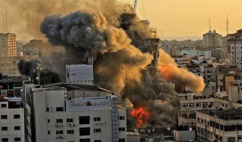 السيسي يعلن إعادة إعمار غزة