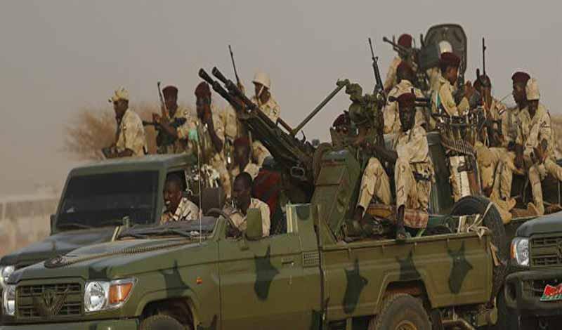 بدء الحرب بين السودان وإثيوبيا