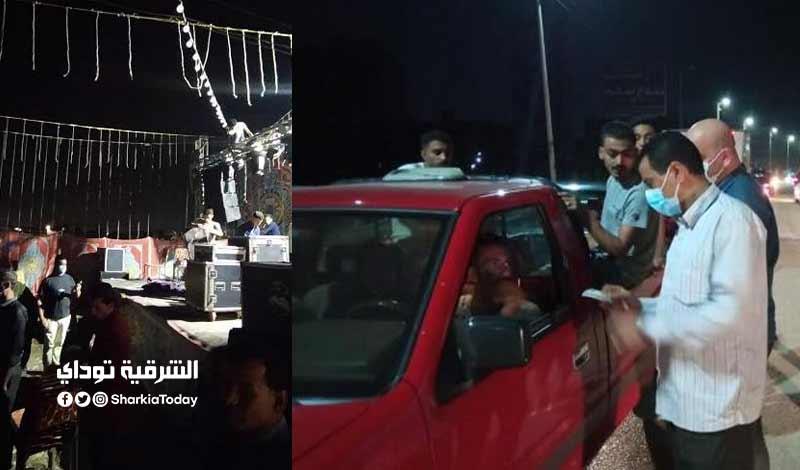 30 مواطن لعدم ارتداء الكمامة ومصادرة 10 شيش لمخالفة الإجراءات الاحترازية بالزقازيق ومنيا القمح 3