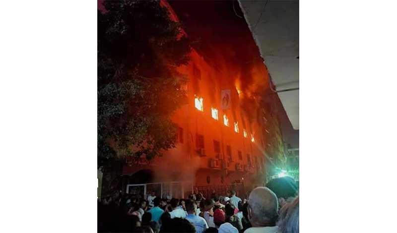 حريق كنيسة العمرانية