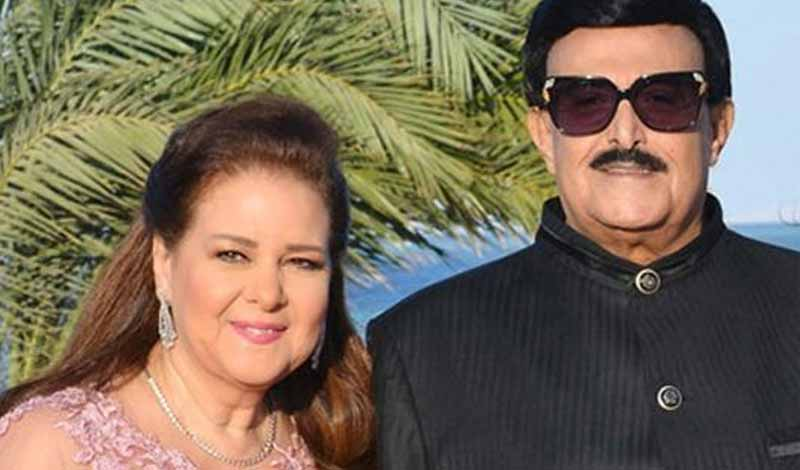 فارق العمر بين سمير غانم وزوجته