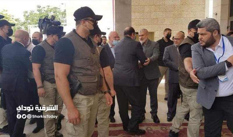 القوات الخاصة المصرية التي تؤمن رئيس المخابرات المصرية في غزة 2