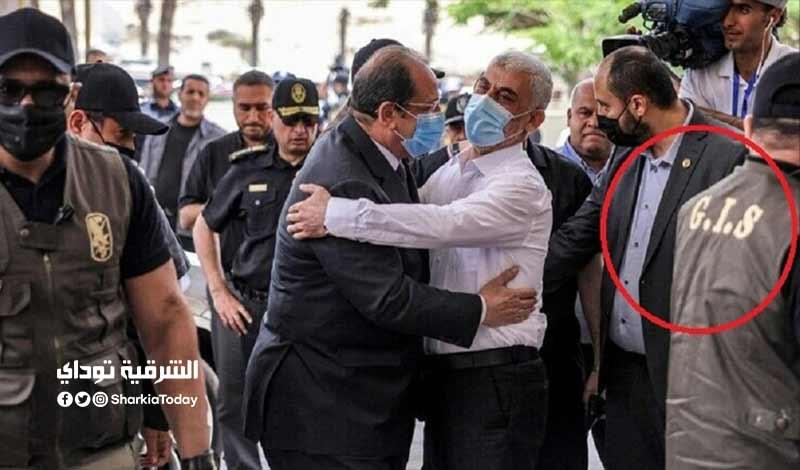القوات الخاصة المصرية التي تؤمن رئيس المخابرات المصرية في غزة 4