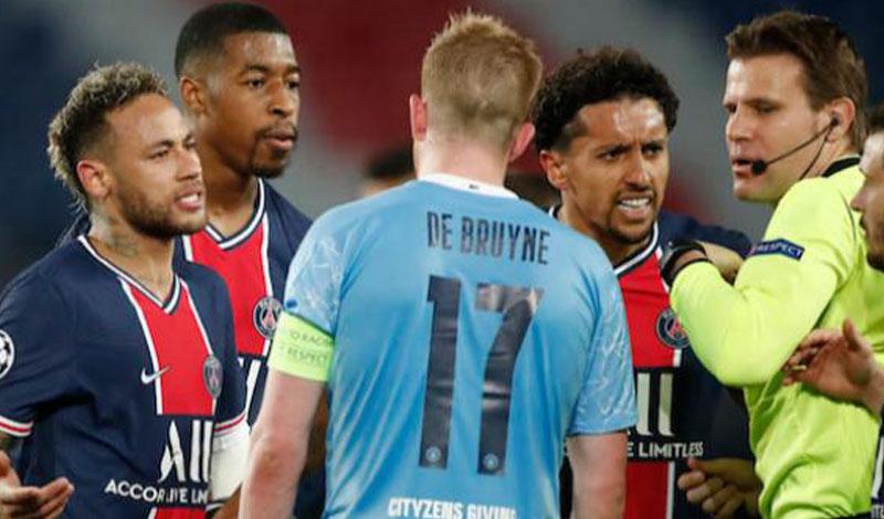مباراة مانشستر سيتي ضد باريس