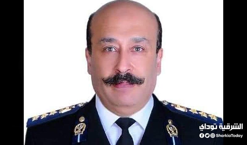 العميد تامر خورشيد رئيس قسم الاسلحة و الذخيرة بمديرية أمن الشرقية