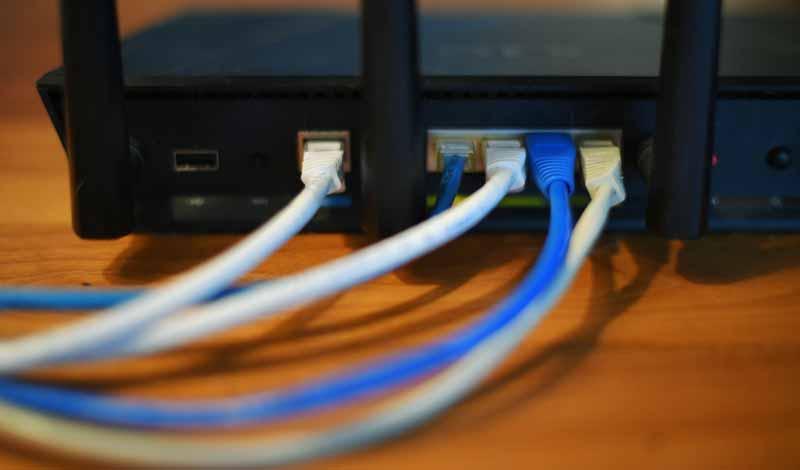 ضعف سرعة الإنترنت في المنازل