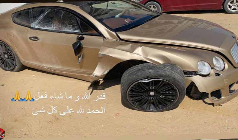 حادث نجم الأهلي
