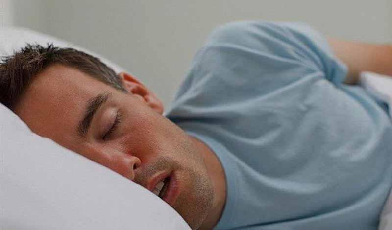 سبب سيلان اللعاب أثناء النوم