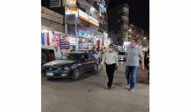 الشرقية في جولة ليلية مفاجئة بشوارع مدينة أبوحماد 2